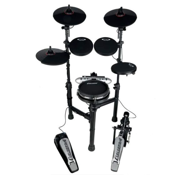 Carlsbro CSD130M Electronic Drum Kit - 5 Drums, Foldable - Mesh Snare
